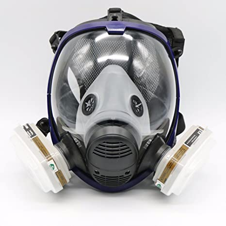 7 Piece Full Face Mask For 6800 Gas Mask Full Face Facepiece Respirator For Painting Spraying Free Shipping Event & Party Back To Search Resultshome & Garden