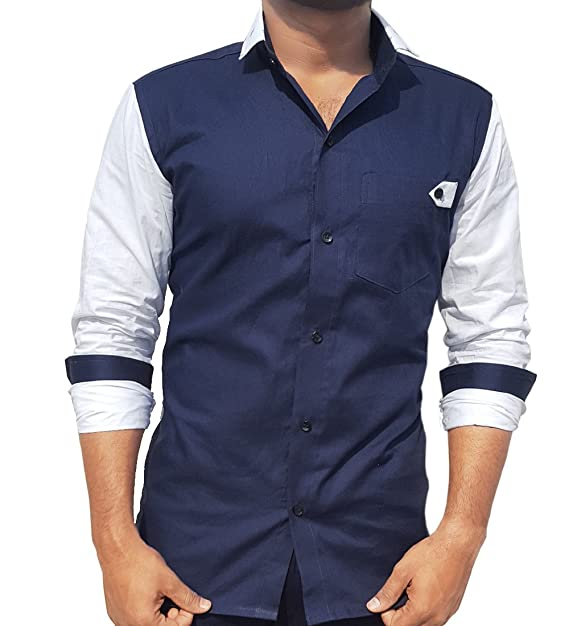 157e8876b9b2 S.N. Men s Cotton Multi Pattern Casual Shirt  Amazon.in  Clothing    Accessories
