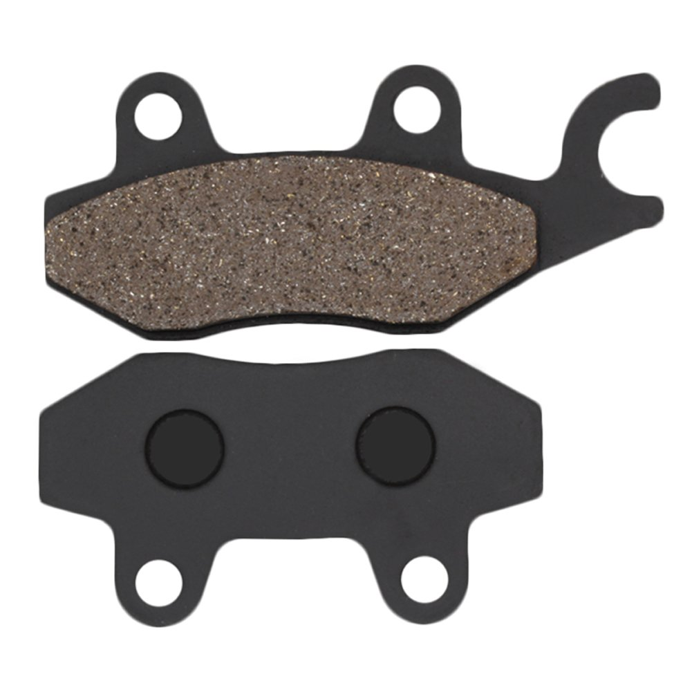 Cyleto Front And Rear Brake Pads For KAWASAKI EX250 NINJA 250R 2008 2009 2010 2011 2012