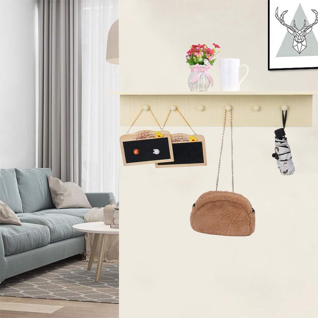 Amazon.com: Yliquor - Perchero de pared con gancho para ...