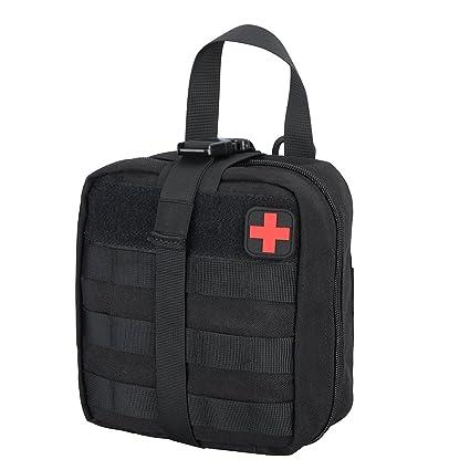 Para Exteriores Botiqu?¡ìan de primeros auxilios - Bolsa de supervivencia para emergencias, Dise?o profesional para el coche, hogar, camping, caza, ...
