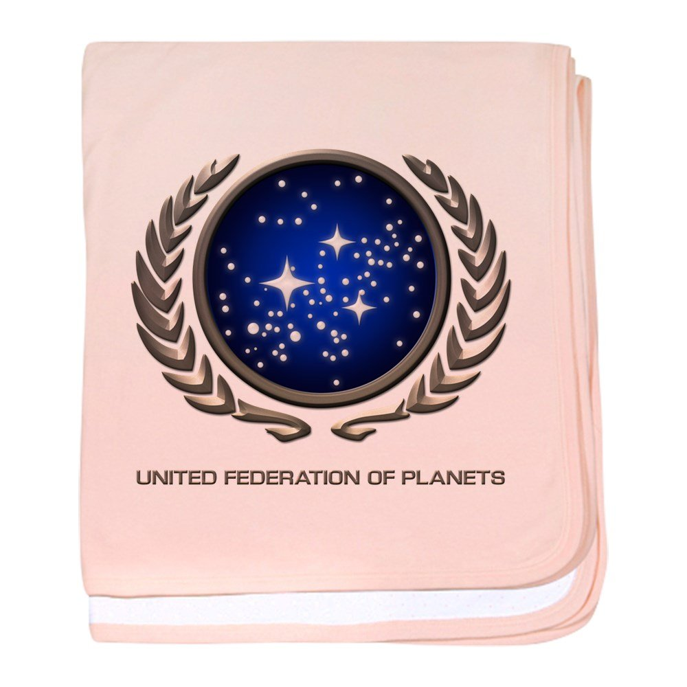 CafePress - STAR TREK UFP Insignia - Baby Blanket, Super Soft Newborn Swaddle
