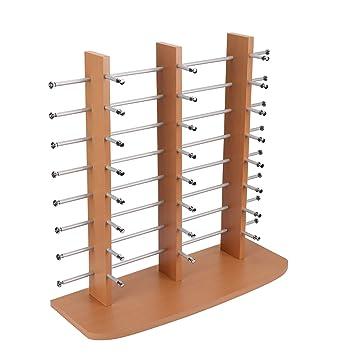 Amazon.com: Plxixi - Soporte de madera para gafas de sol ...