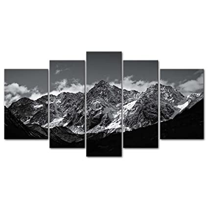 Amazon.com: Canvas Wall Art Paintings For Home Decor Black And White ...