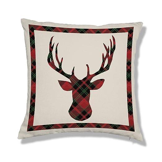 Artoid Conch Suave nórdico Invierno Navidad Lino | Funda de ...
