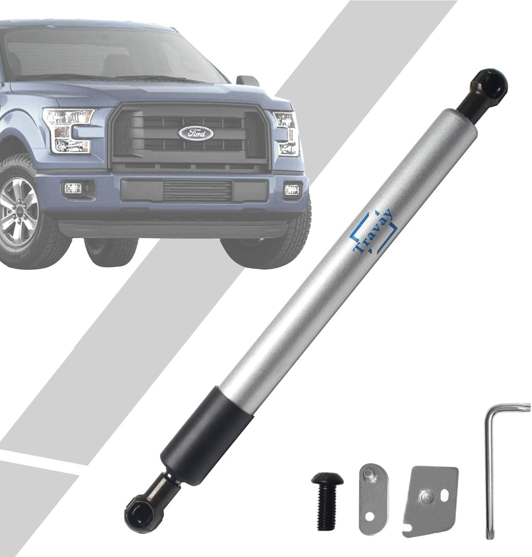 Travay 43203 Tailgate Assist Shock Struts Compatible with 1997-2004 Ford F-150//1999-2016 Ford F-250//F-350 Super Duty// 2008-2016 Ford F-450 Super Duty