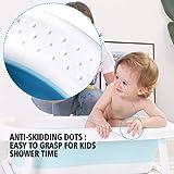 BEWAVE Baby Inflatable Bathtub, Foldable Infant