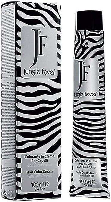 Crema colorante para el cabello Jungle Fever – 112 colores – 9 correctores – Tubo 100 ml – Tinte para el cabello 6.43 - B.do Scuro Rame Dorato
