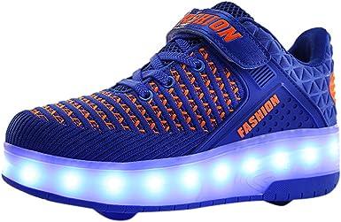 Light Up Trainer Skate Wheels Sneakers