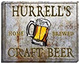 HURRELL'S Craft Beer Stretched Canvas Sign - 16