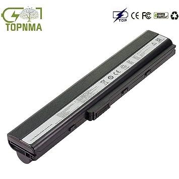Topnma® Standard Serie A32-K52 Batería para ASUS A52F A52J A52N B53 K42 K52
