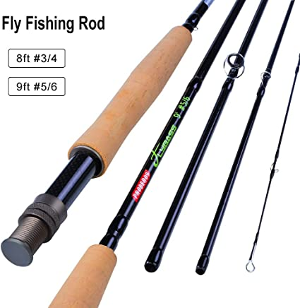 Amazon Com Baikalbass Fly Fishing Rod And Reel Combos 8 9 Fly Rod Fly Line Backing Fly Baits Full Kit Anglers And Beginners 9ft 5 6wt Fly Fishing Rod Sports