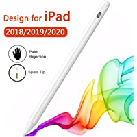 Stylus Pen for iPad Compatible with Apple Pencil 2 Generation for iPad/Pro 2018/2019/2020 with Palm Rejection White