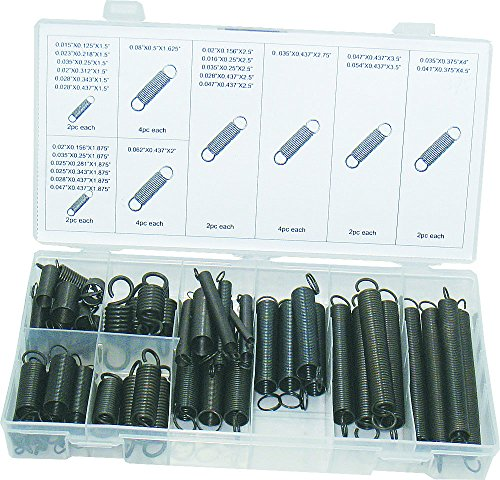 e Finish Extension Spring Assortment, 54 Piece ()