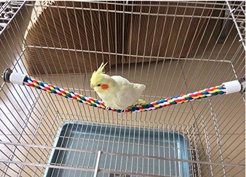 Jusney Bird Rope Perch