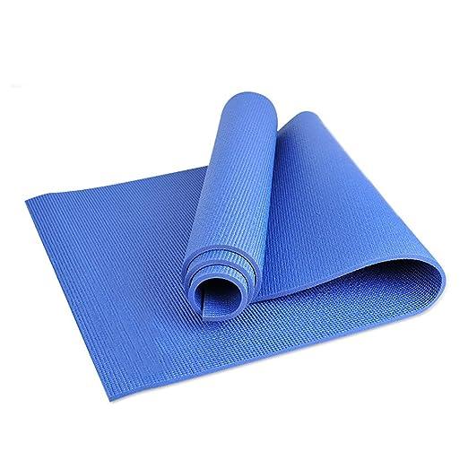 FANFF - Esterilla de Yoga (8 mm de Grosor, Goma Natural ...