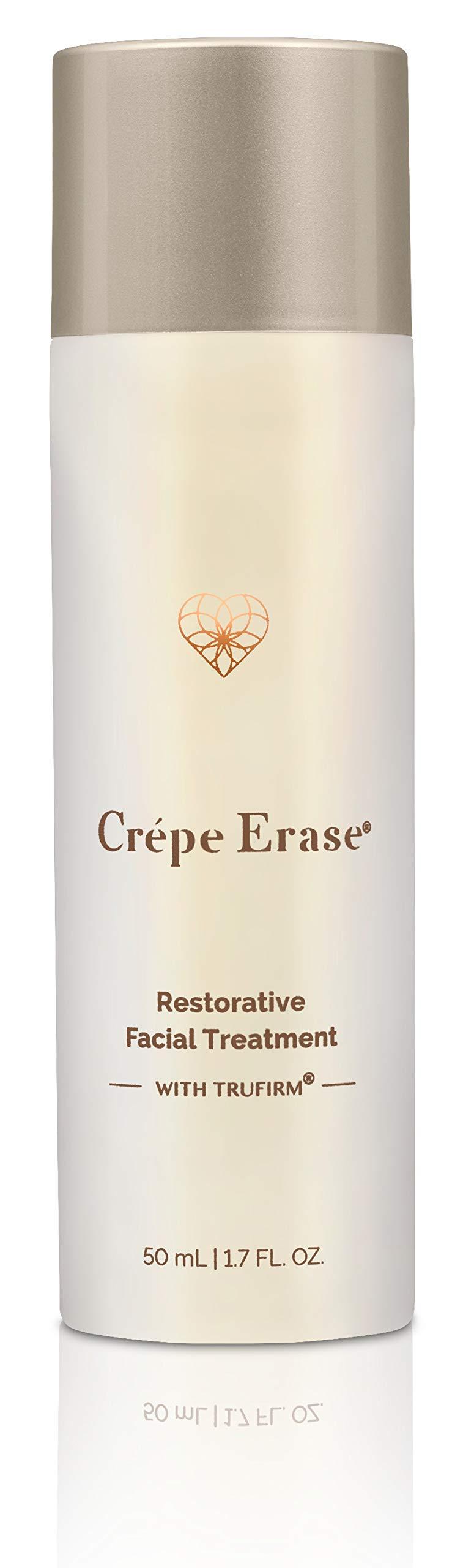 Crépe Erase Advanced - Restorative Facial Treatment with Trufirm Complex - Original Citrus Scent - Full Size/1.7 Ounces
