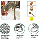 JUN-L Chainmail Scrubber 8x8 inch Square 304