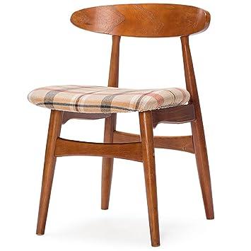 Bar Cafe mesas y sillas Silla de escritorio Silla de madera ...