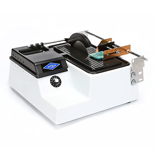 Hi-Tech Diamond 6 Lapidary Trim Saw Cutting Sawing Trimming Machine Includes TWO 6 Diamond Saw Blades AND Vise Attachment