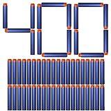 AMOSTING Foam Bullets Refill Dart Pack for N-Strike Elite Blasters Nerf Guns Standard Size–400PCS Blue