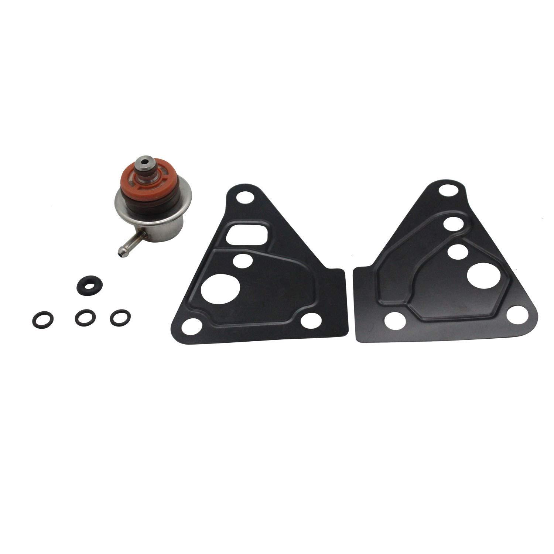TAKPART Fuel Pressure Regulator Repair Fix Rebuild Gasket Kit Compatible for Discovery 2 Defender TD5