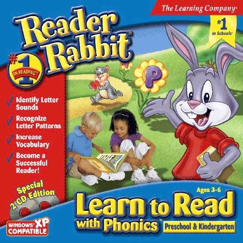 Reader Rabbit Learn to Read with Phonics! Preschool & Kindergarten Age Rating:3 - 6 by The Learning Company
