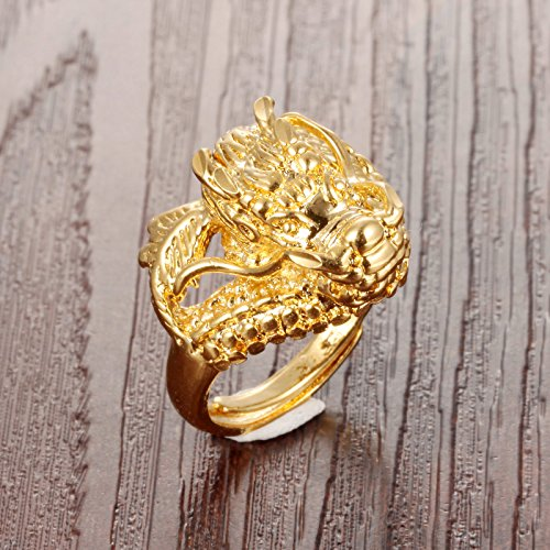 Buy antique mens dragon rings
