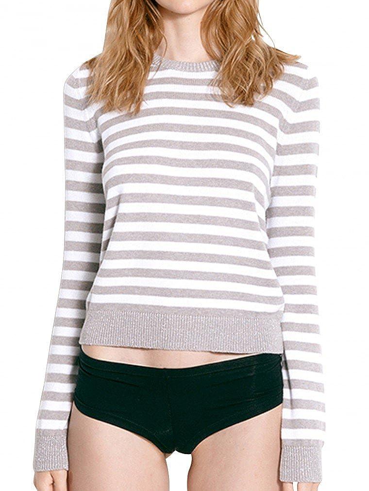 Blaumax Damen Pullover Klara Stripe 22622063 6044: