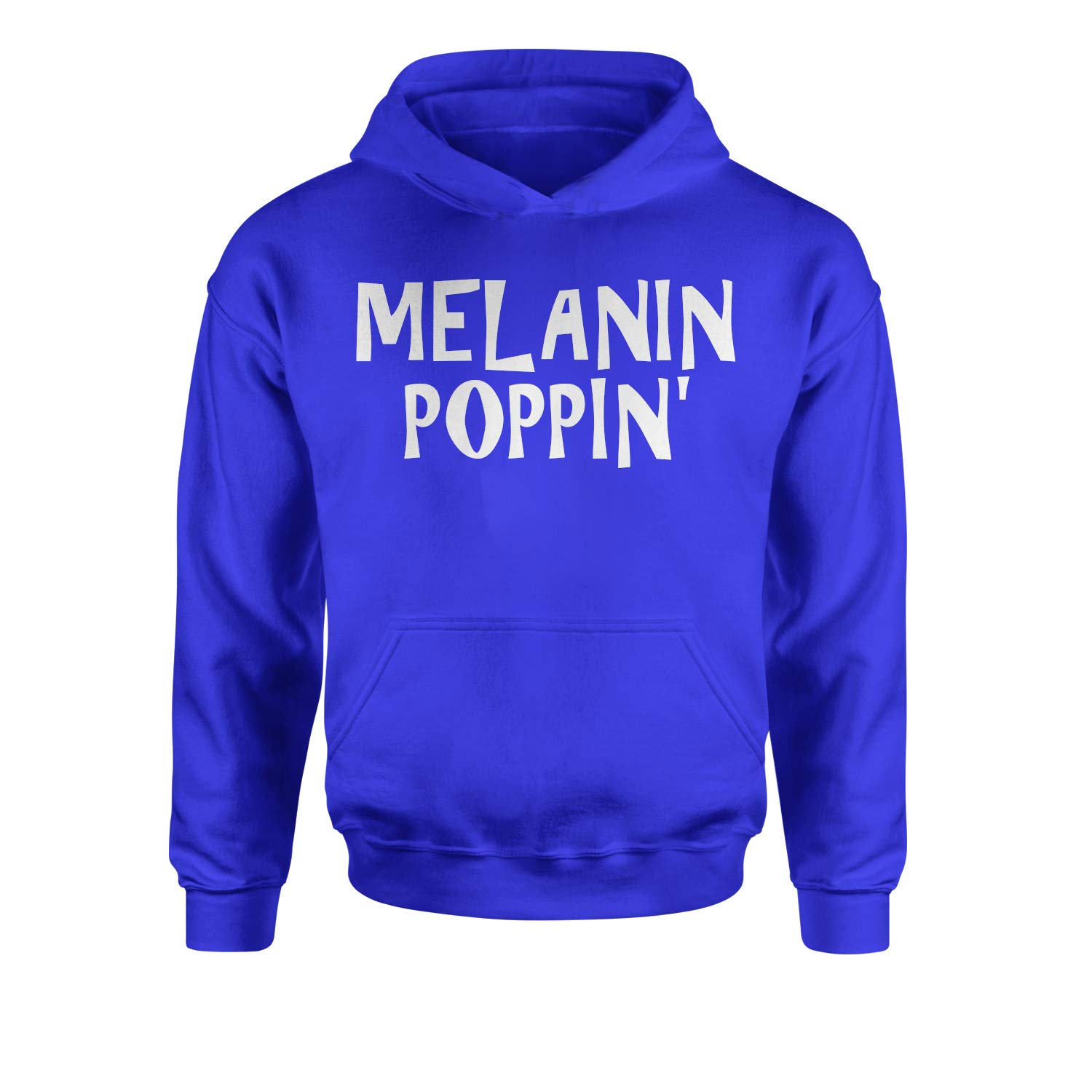 Expression Tees Melanin Poppin Youth-Sized Hoodie
