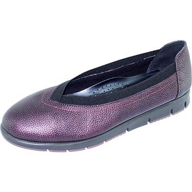 496e761fcd270a Aerobics FRET Ballerines Sportswear Souple Et Confortable Chaussures Sport  Femme Semelles Antidérapantes Marque Cuir Bordeaux -