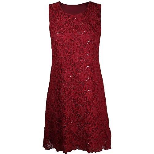 Purple Hanger Womens Sleeveless Dress