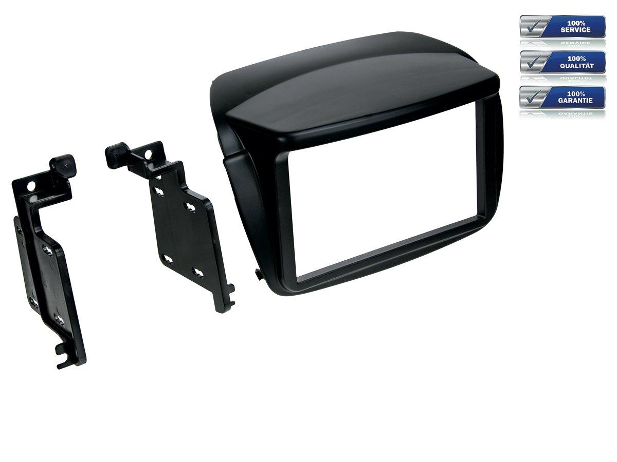 De doble DIN para radio de coche para Fiat Doblo y Opel Combo * Negro *: Amazon.es: Electrónica