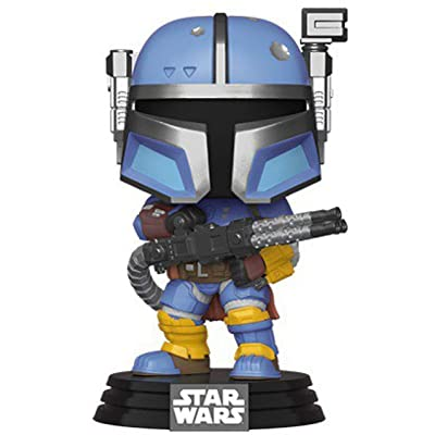 Funko Star Wars: The Mandalorian - Heavy Infantry Mandalorian: Toys & Games
