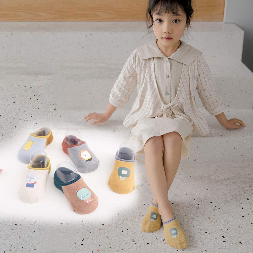 low-cut anti-slip toddler babys socks with roomy elastic cuff cute cartoon pattern non-slip silicone floor socks
