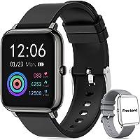Smartwatch Pulsera Inteligente,Reloj Deportivo Pantalla Táctil Completa de 1.4 Pulgadas,Pulsera Deportiva Bluetooth,para…
