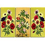 PPD Wall Painting - Split Frames Paintings Home Decor framed paintings for living room framed paintings for bedroom Wall Art Decor Painting for home 3 Pieces paintings - Premium Quality Ready To Hang HD quality Art Panels Wall Decor Wall Decals Wall Hangings (18 inch x 12 inch) (8)