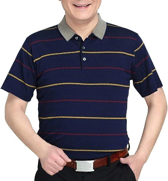 Camisa De Polo para Verano Modernas Casual Casual Hombre ...