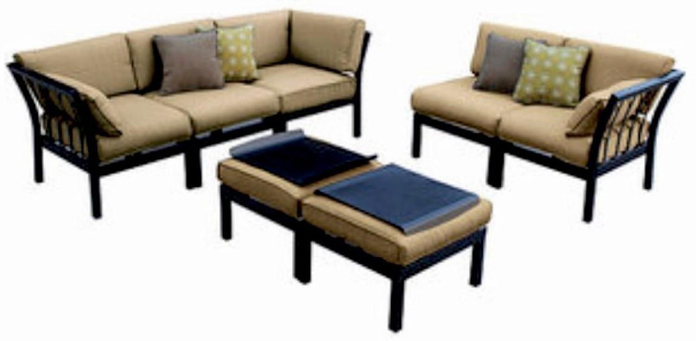 Amazon.com: Outdoor Patio Sectional 7 Piece Stylish Furniture Sofa Set  Seats Deep Seating: Garden U0026 Outdoor