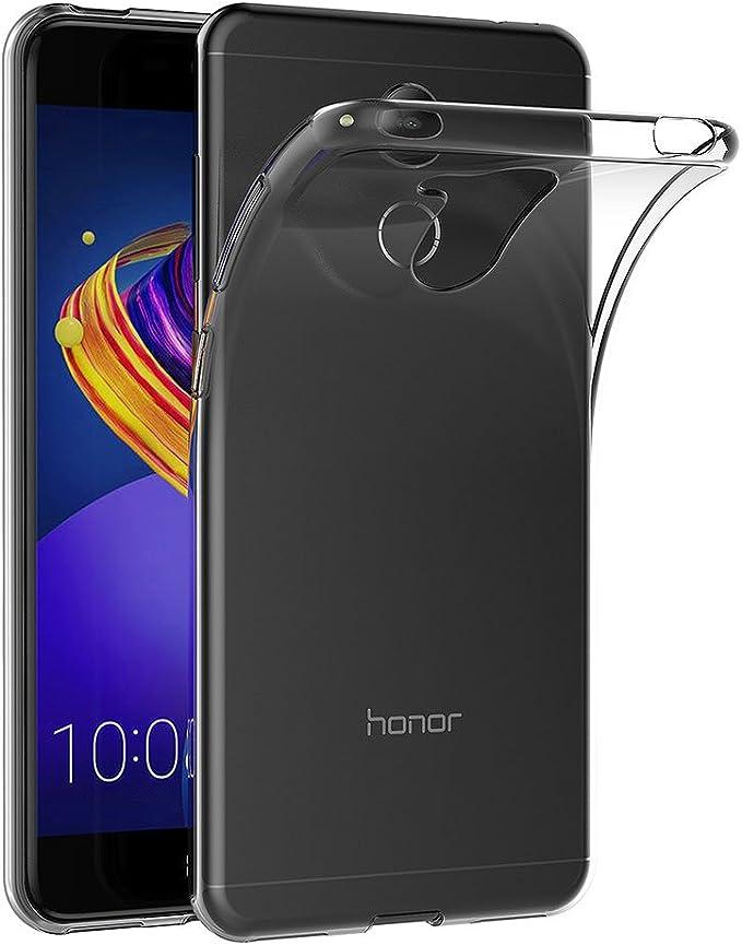 AICEK Funda Honor 6C Pro, Transparente Silicona Fundas para Huawei ...