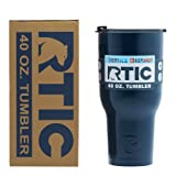 RTIC Double Wall Vacuum Insulated Tumbler, 40