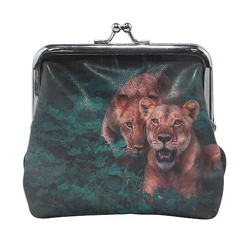 Amazon.com: Rh Studio Monedero monedero de leones Cubs ...
