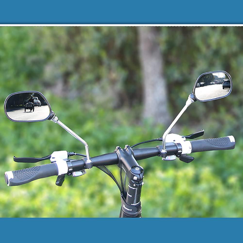 Xmas 1 Pair Bicycle Handlebar Rearview Mirror Bicycle Bike Wide Range Back Sight