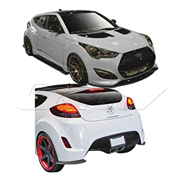2012 – 2016 Hyundai Veloster Turbo Creations GT Racing Body Kit – 5 piezas de carbono