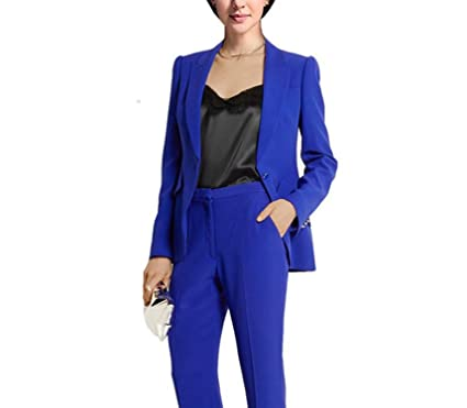 Back To Search Resultswomen's Clothing Suits & Sets Strong-Willed Formal Ladies Navy Blue Blazer Women Business Suits With Pant And Jacket Set Work Wear Office Uniform Design Styles Reputation First