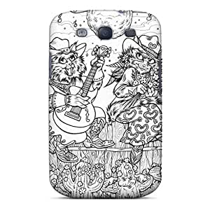 Hard Plastic Galaxy S3 Case Back Cover,hot Howl I Love Thee Case At Perfect Diy