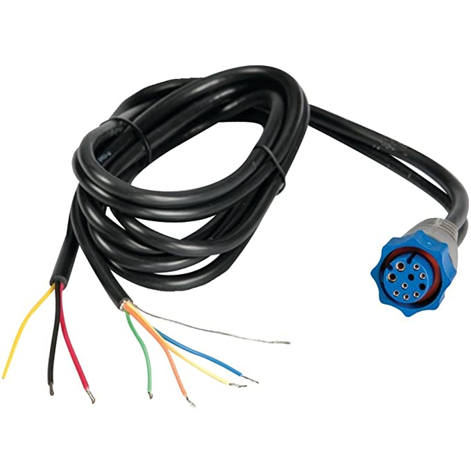 amazon com lowrance 000 0127 49 hds elite hdi power cable marine rh amazon com