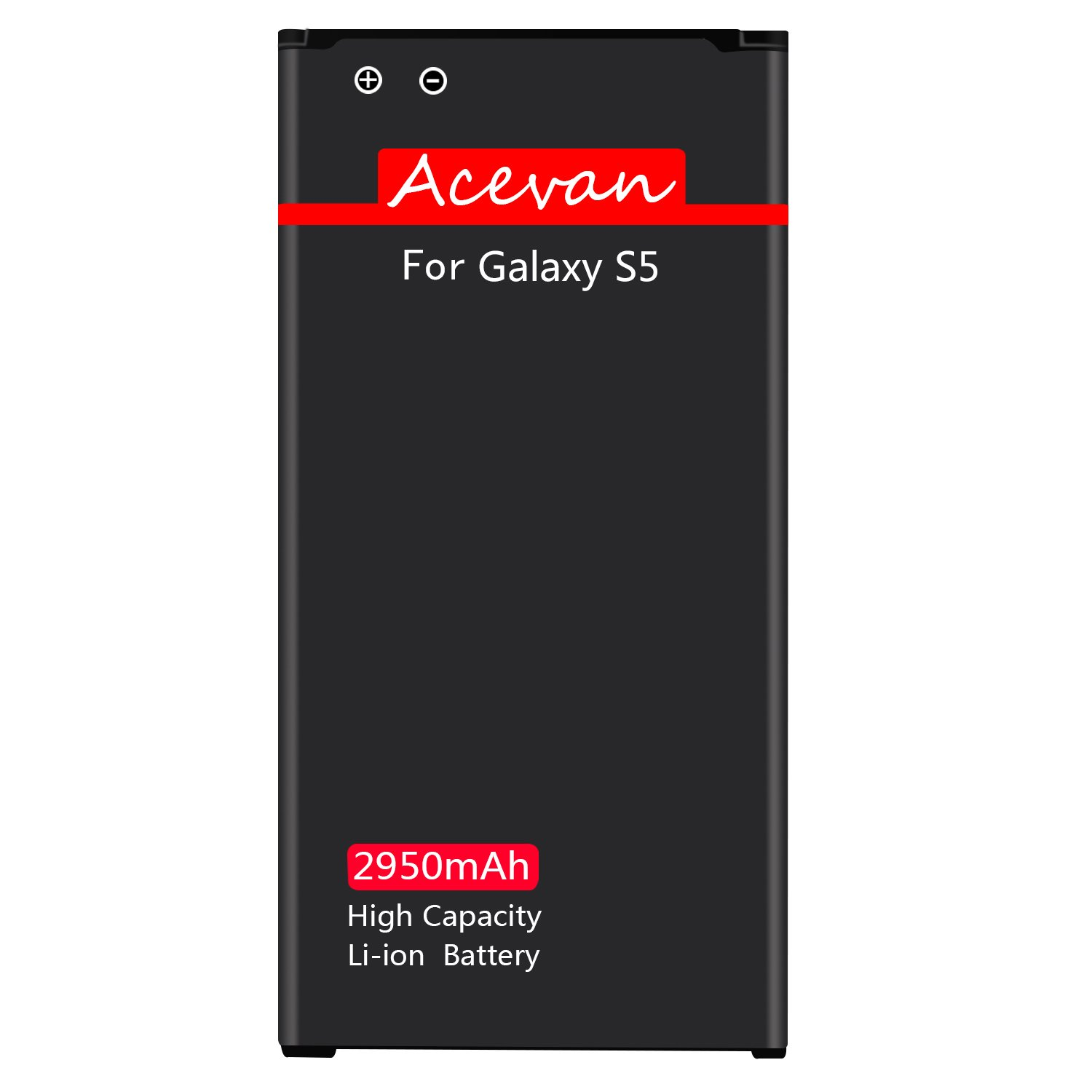 Galaxy S5 Battery Acevan 2950mAh Li-ion Battery Replacement for Samsung Galaxy S5, Verizon G900V, Sprint G900P, T-Mobile G900T, AT&T G900A, G900F, G900H, G900R4, I9600 [3 Year Warranty] by Acevan (Image #7)