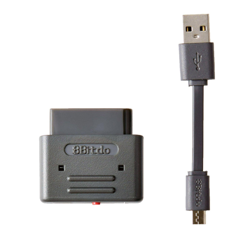 E-MODS- 8Bitdo Bluetooth Wireless Retro Receiver Support for PS3