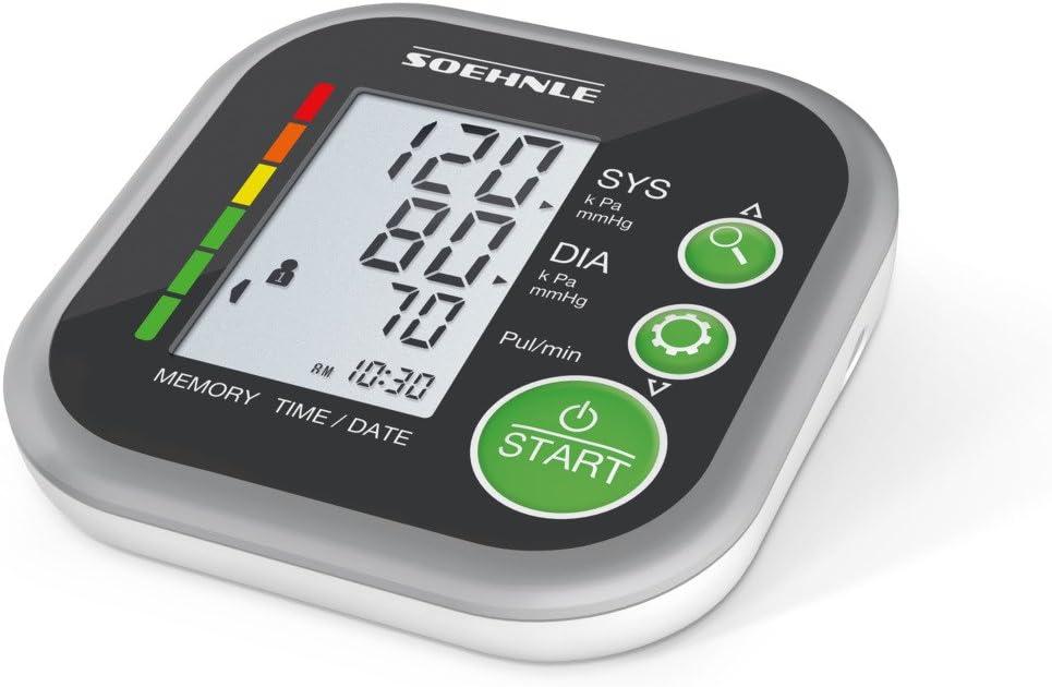 SOEHNLE Systo Monitor 200 - Tensiometro de brazo, ritmo cardiaco ...